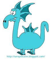 Dragon blue01
