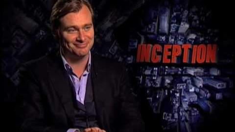 Christopher Nolan Director - Inception Interview