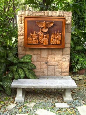 The Descent of the Holy Spirit in San Carlos Seminary