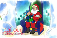 Caillou holiday movie