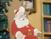 Santa in the Heathcliff cartoon