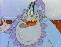 Caractacus Doom as Scrooge