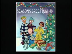 Season's Greetings from the Funnies