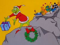 Grinch returns the presents