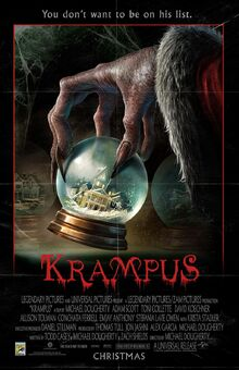 Krampus movie poster (Comic Con Edition)