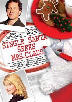 Single santa seeks mrs. claus cover