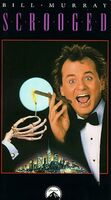 Scrooged VHS 1989