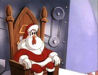 Chicken Boo as Santa