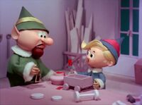 Hermey and the Foreman Elf