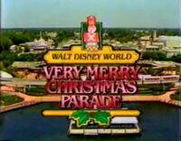 WDW ChristmasParade 1986