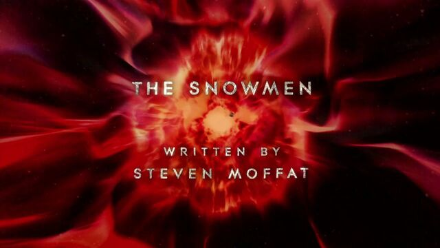 File:Doctor Who The Snowmen Title.jpg
