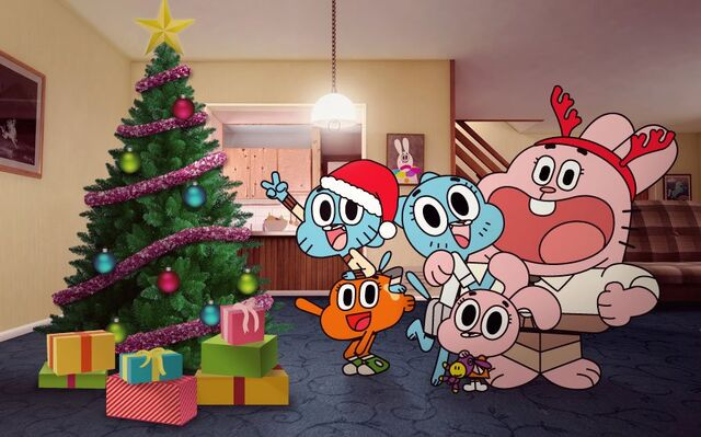 File:The amazing world of gumball christmas wallpaper by kenpuropoder-d4quppl.jpg