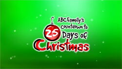 Countdown to 25 Days of Christmas logo