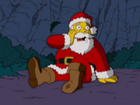 SantaClaus from Simpsons Christmas Tales