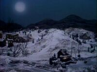 Waterville At Night