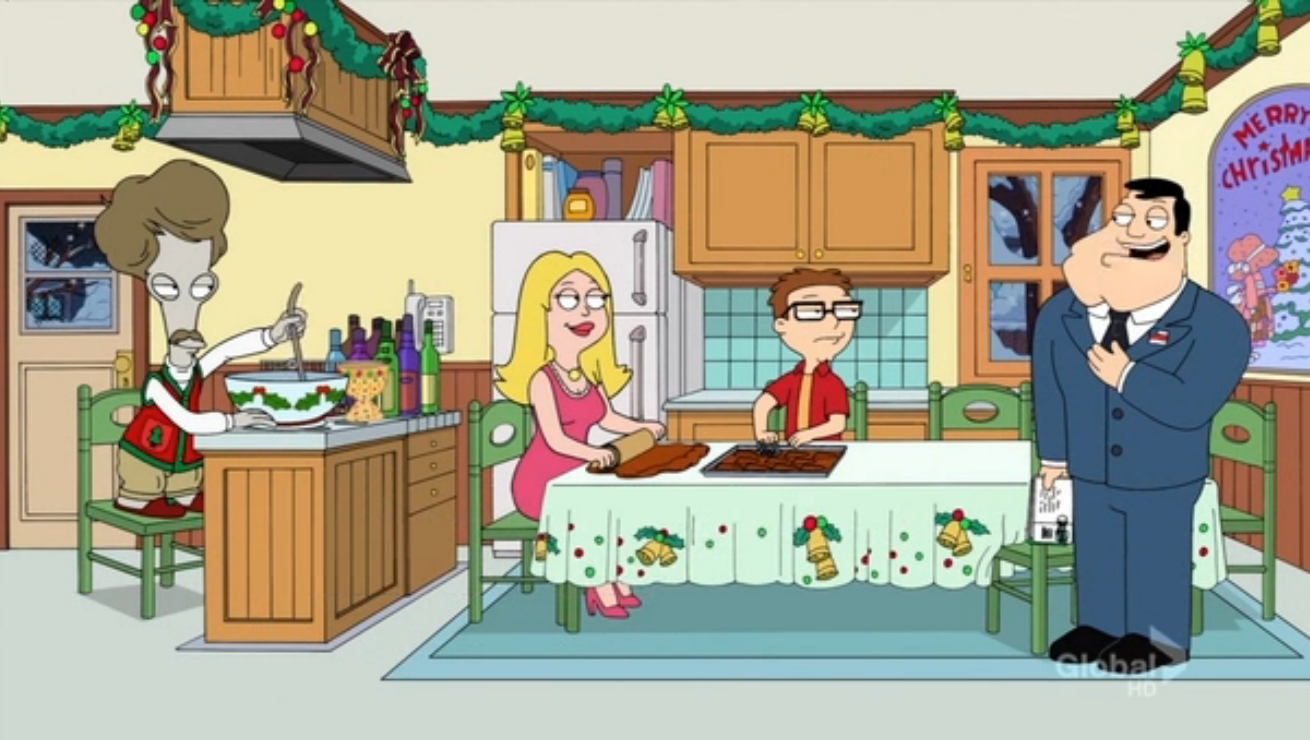 Season's Beatings (American Dad!) | Christmas Specials Wiki ...