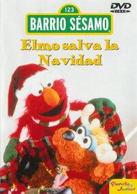 Barrio Sesamo Elmo Salva La Navidad-Caratula