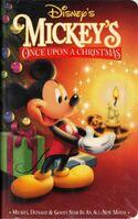 MickeysOnceUponAChristmas VHS 1999