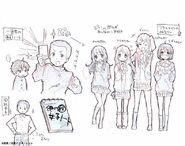 Chuunibyou Demo Koi ga Shitai! LightNovel - Cutie Poll (Kannagi-san, Hirakata-san, Nibutani-san and Nabatame-san)