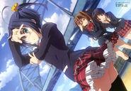 Rikka Takanashi, Shinka Nitabuni & Tsuyuri Kumin