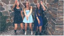 Three Cimorelli Sisters in Problem Music Video Screenshot