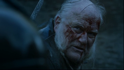 Ron Donachie just before his death in Game of Thrones-The Old Gods and ... | 400 x 226 png 116kB