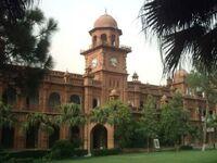 PakistanLahoreThePunjabUniversityOldCampusBuilding