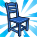 Blue Dining Chair-viral