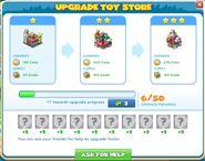 Upgrade toy store