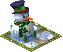 Giant Snowman Mansion Level 4-SW
