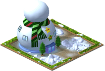 Giant Snowman Mansion Level 3-SW