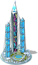 Ice Crystal Skyscraper-SE