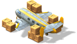 Super Cargo Plane-Loaded