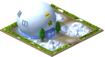 Giant Snowman Mansion Level 2-SW