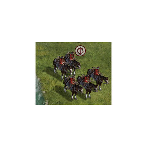 Horse Archer in game