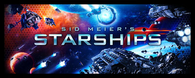 Starships key art