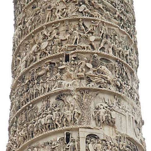 Details of the engravings found on Trajan's Column
