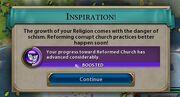 Reformed Church Eureka moment (Civ6)