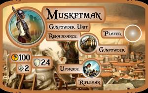 Musketman Info Card (Civ5)