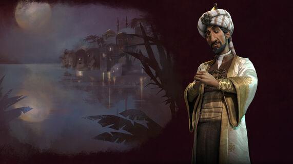 Civ 6 Saladin splash