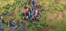 Broadway in-game (Civ6)