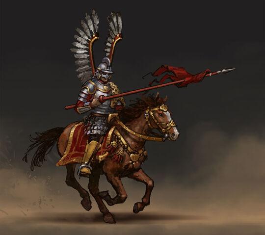 File:Winged hussar (Civ5) art.jpg