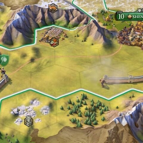 Two Builder units building the Great Wall tile improvements