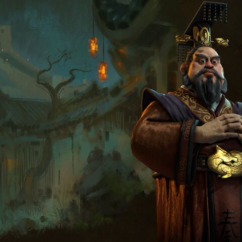 Concept art of Qin Shi Huang