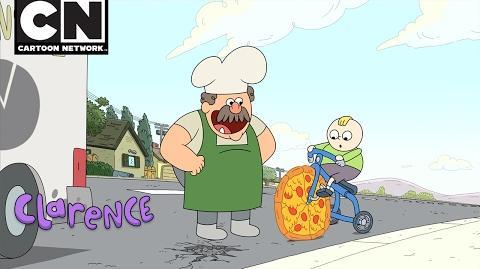 Clarence Pizza Hero Saved My Life Cartoon Network