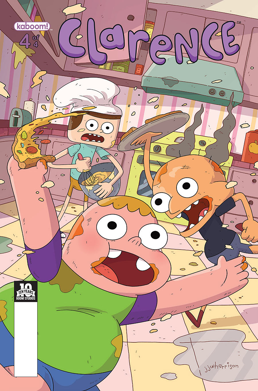 Clarence - Issue 4 | Clarence Wiki | FANDOM powered by Wikia