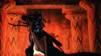 Medusa with bow and arrow 1981