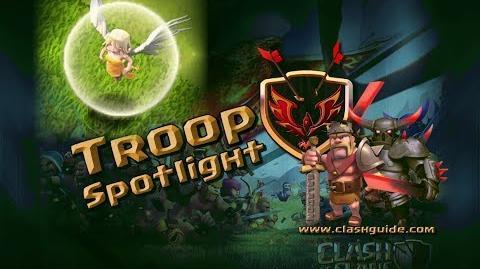 Clash of Clans Troop Spotlight - The Healer!