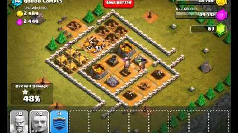 Clash of Clans - Level 22 Gobbo Campus