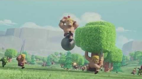 Clash of Clans Flight of the Barbarian (Official TV Commercial)